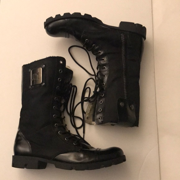 dae38c9ba25 J75 By JUMP Stone Black Combat Boots Size 10